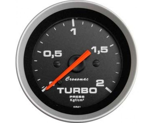 MANOMETRO TURBO 52mm - 2KG / SPORT