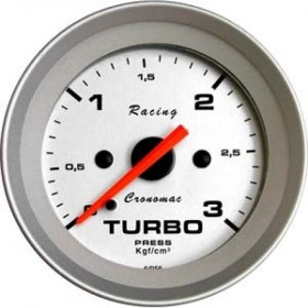 MANOMETRO CR PRES TURBO 3KG 52MM RACING