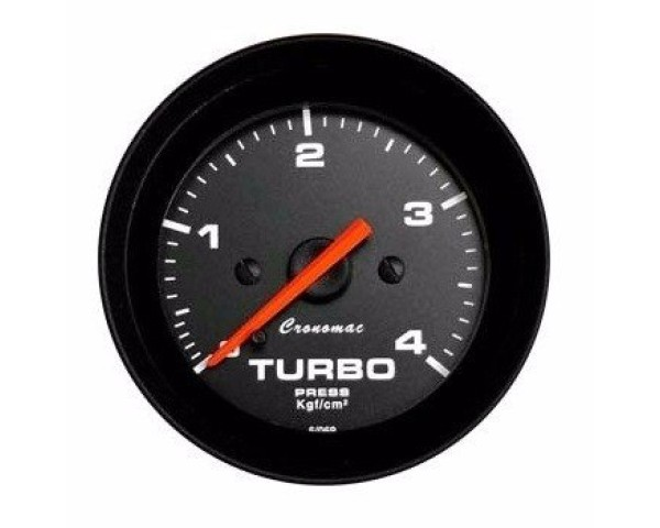MANOMETRO CR PRES TURBO 4KG 52MM STREET
