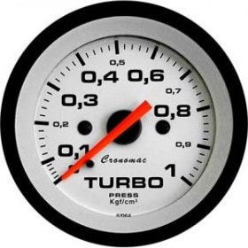 MANOMETRO CR PRES TURBO 1 KG 52MM STREET BR